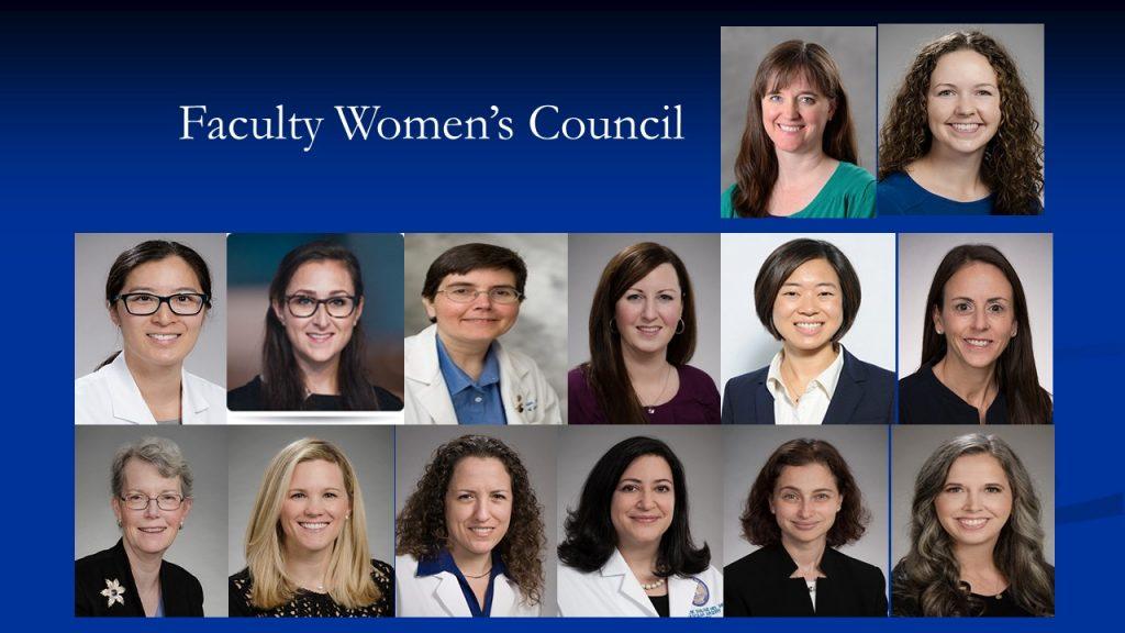 Womens Council collage photos-faculty
